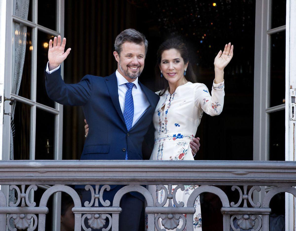 Men der bliver ikke en officiel fejring for kronprins Frederik, som der var sidste år. Foto: Scanpix