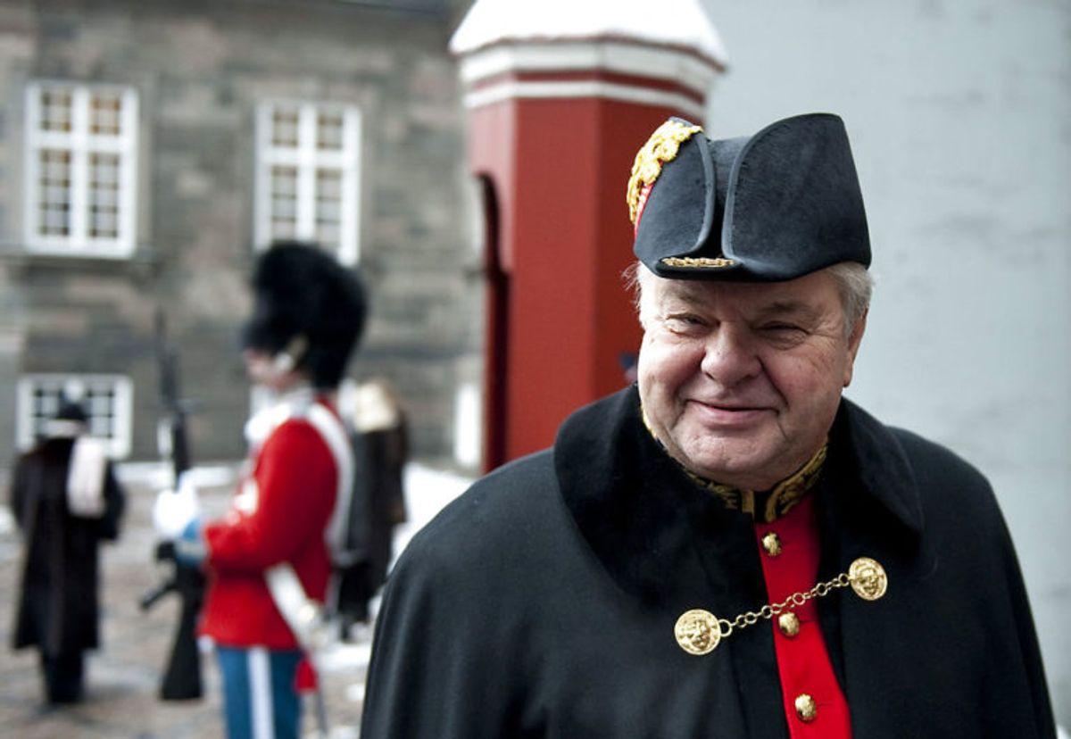 Christian Kjær fik tidligere på året en betinget dom for at have påkørt en frivillig i forbindelse med et besøg til bageren. Foto: Scanpix.