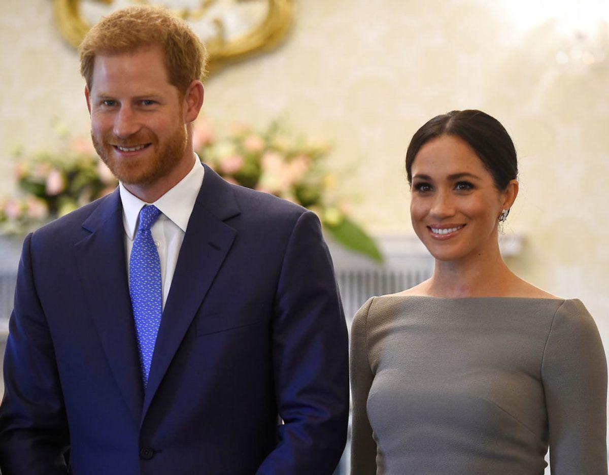 Verden afventer stadig, hvad prins Harry og Meghan Markle kommer til at kalde deres nyfødte søn. Klik for flere billeder. Foto: Scanpix