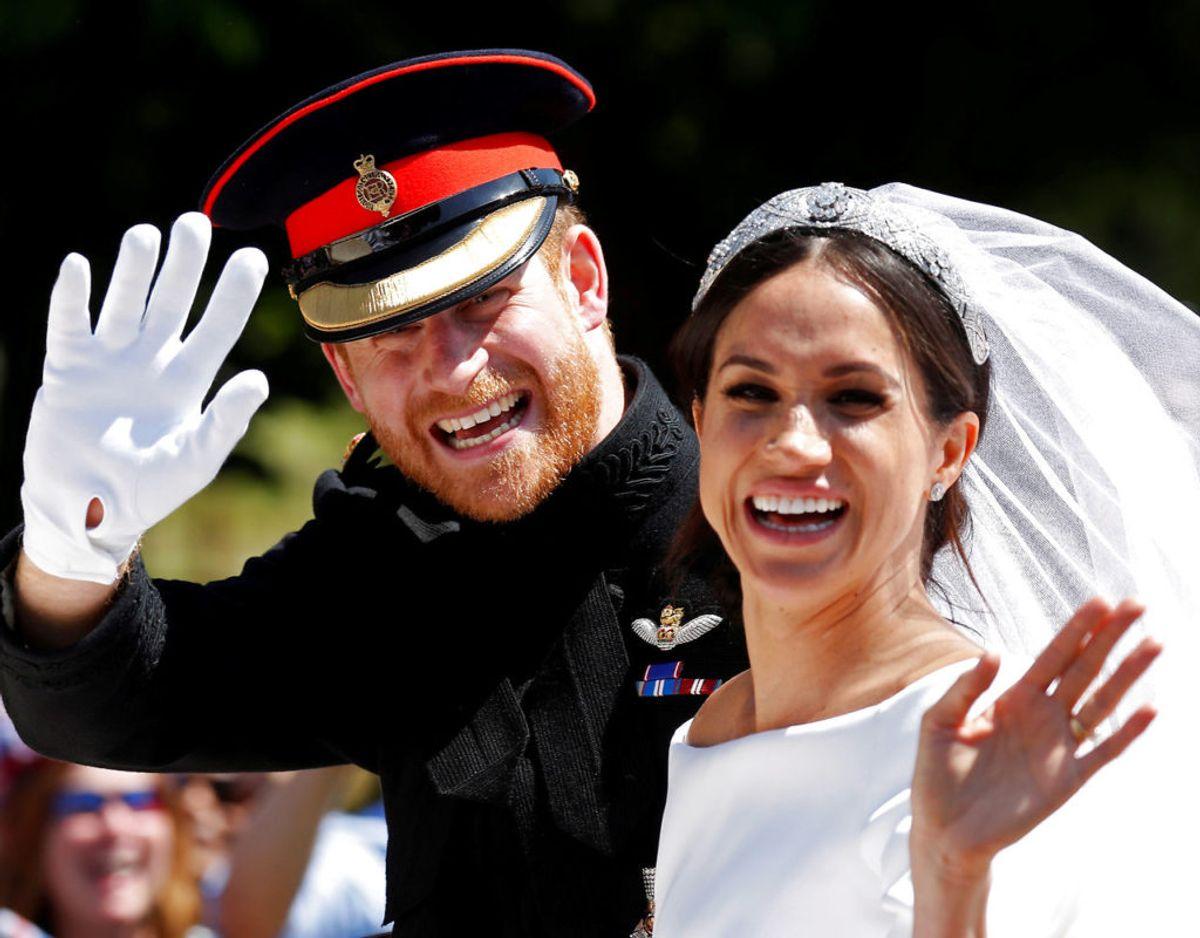 Parret, der blev gift i maj sidste år, forventes at gå med et mere moderne bud på et navn til en kongelig. Foto: Scanpix
