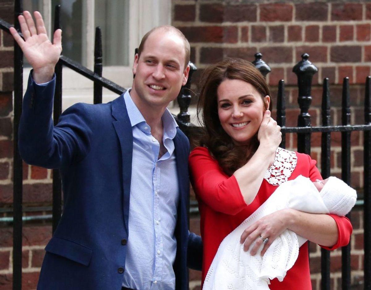 Det forventes, at de gør det modsatte af, hvad prins William og hertuginde Kate gjorde. De har navngivet alle deres børn med meget traditionelle navne. Foto: Scanpix
