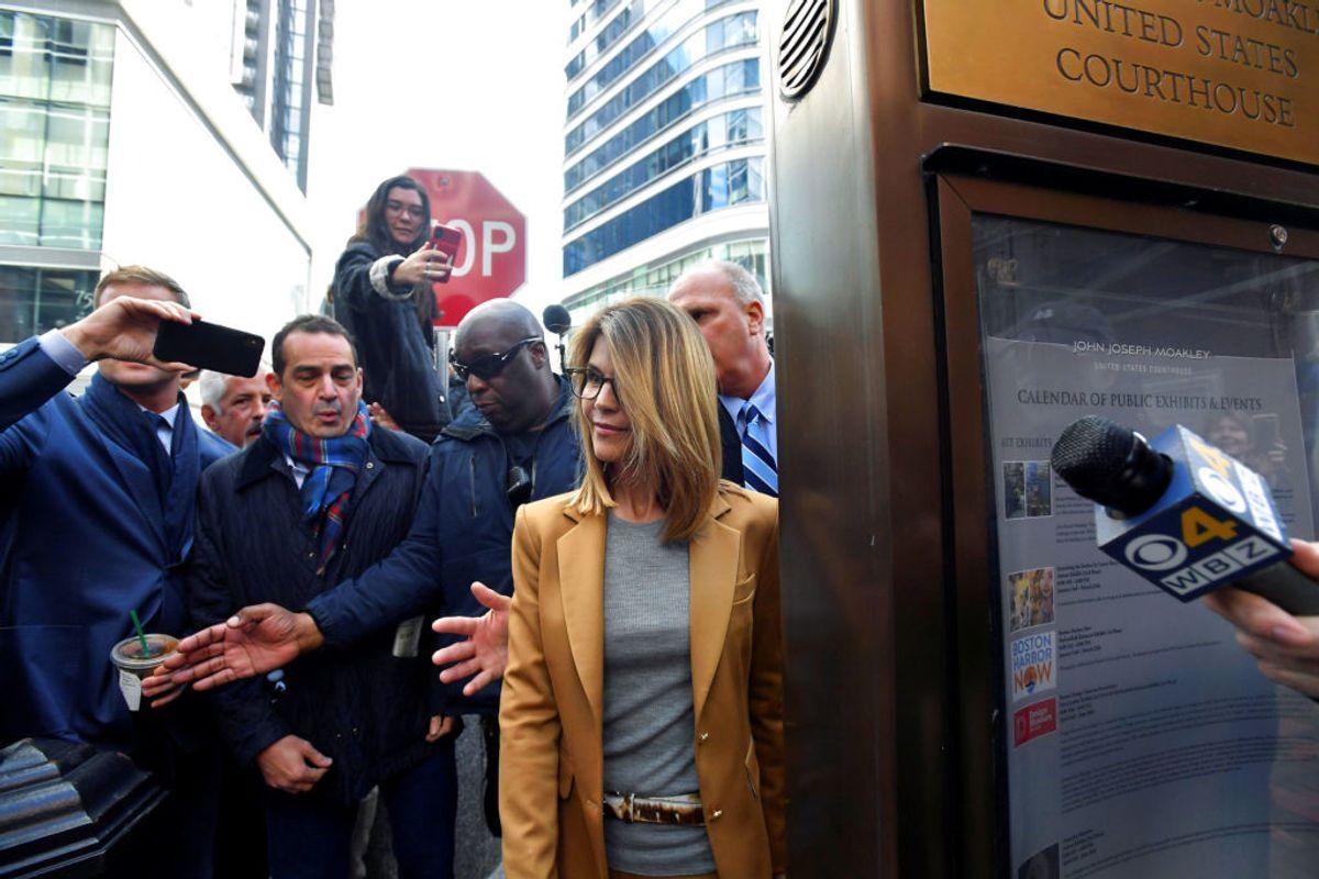 Lori Loughlin fra TV-serien 'Hænderne fulde' nægter sig skyldig i anklagerne. Foto: Gretchen Ertl/Scanpix.