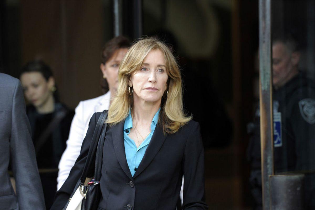 Felicity Huffman fra 'Desperate Housewives' har derimod erklæret sig skyld. Foto by Joseph Prezioso/Scanpix.