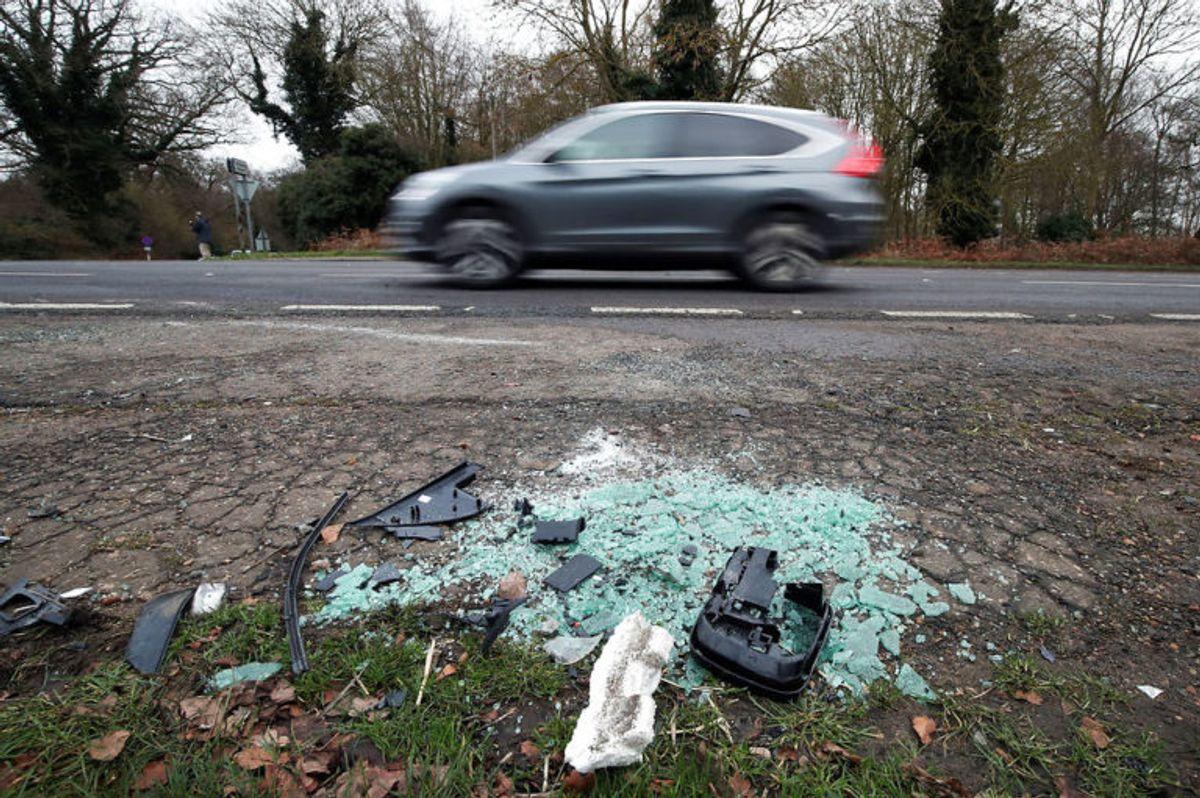 Den 97-årige prins var torsdag 17. januar involveret i en voldsom ulykke nær Sandringham. KLIK for flere billeder. Foto: Scanpix.
