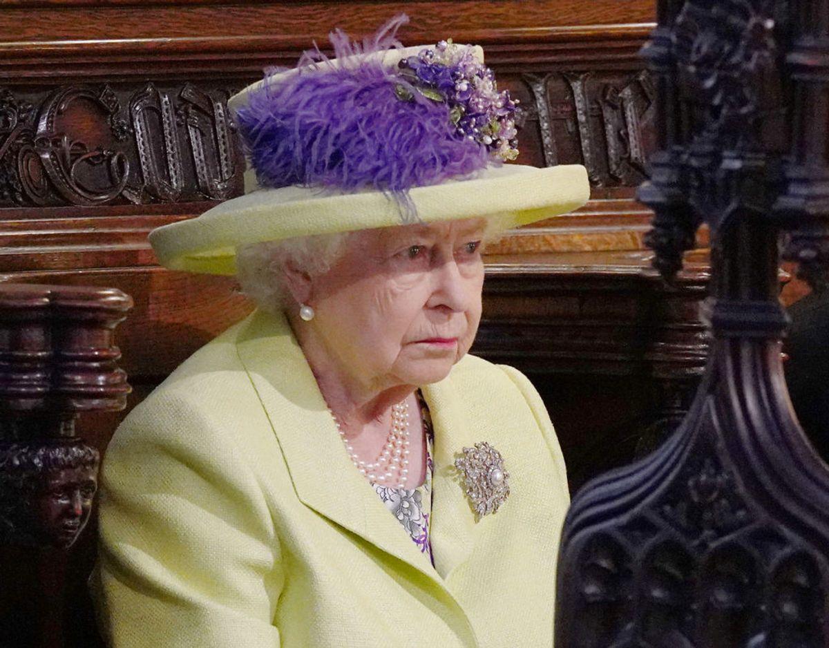 Et tredje rygte siger, at dronningen ikke bliver den første, der får at vide, at Meghan har født. Det vil være nok et brud på traditionerne. Foto: Jonathan Brady/Scanpix.