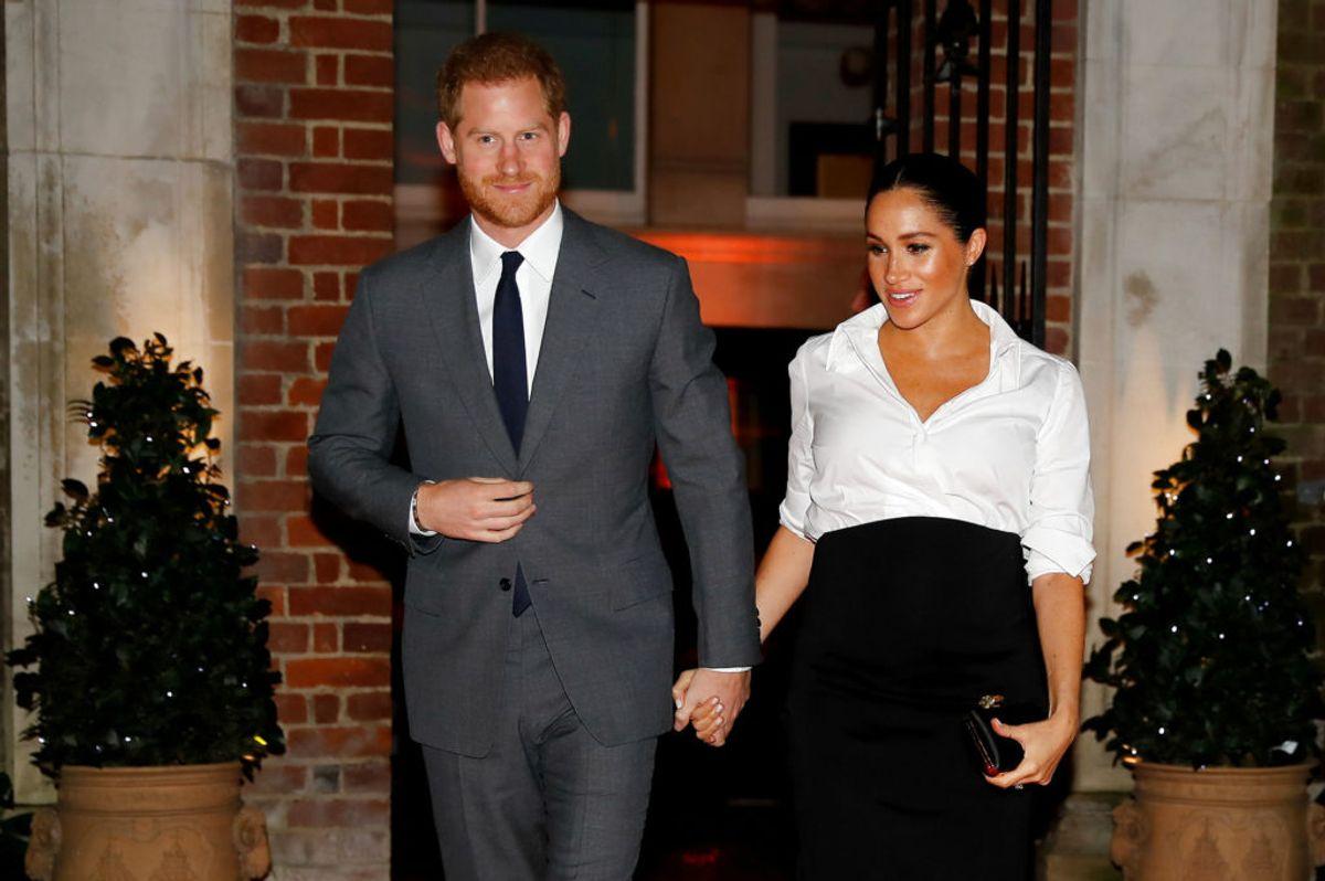 Da Meghan Markle blev en del af den royale familie, der lukkede hun alle sine konti på sociale medier. Foto: Scanpix