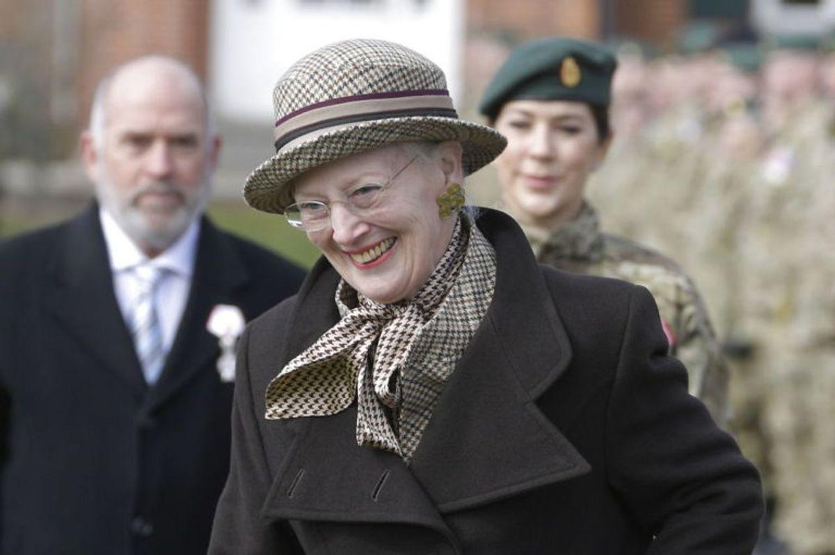 Den 16. april fylder Dronning Margrethe år. Nærmere bestemt 79 år. Foto: Scanpix