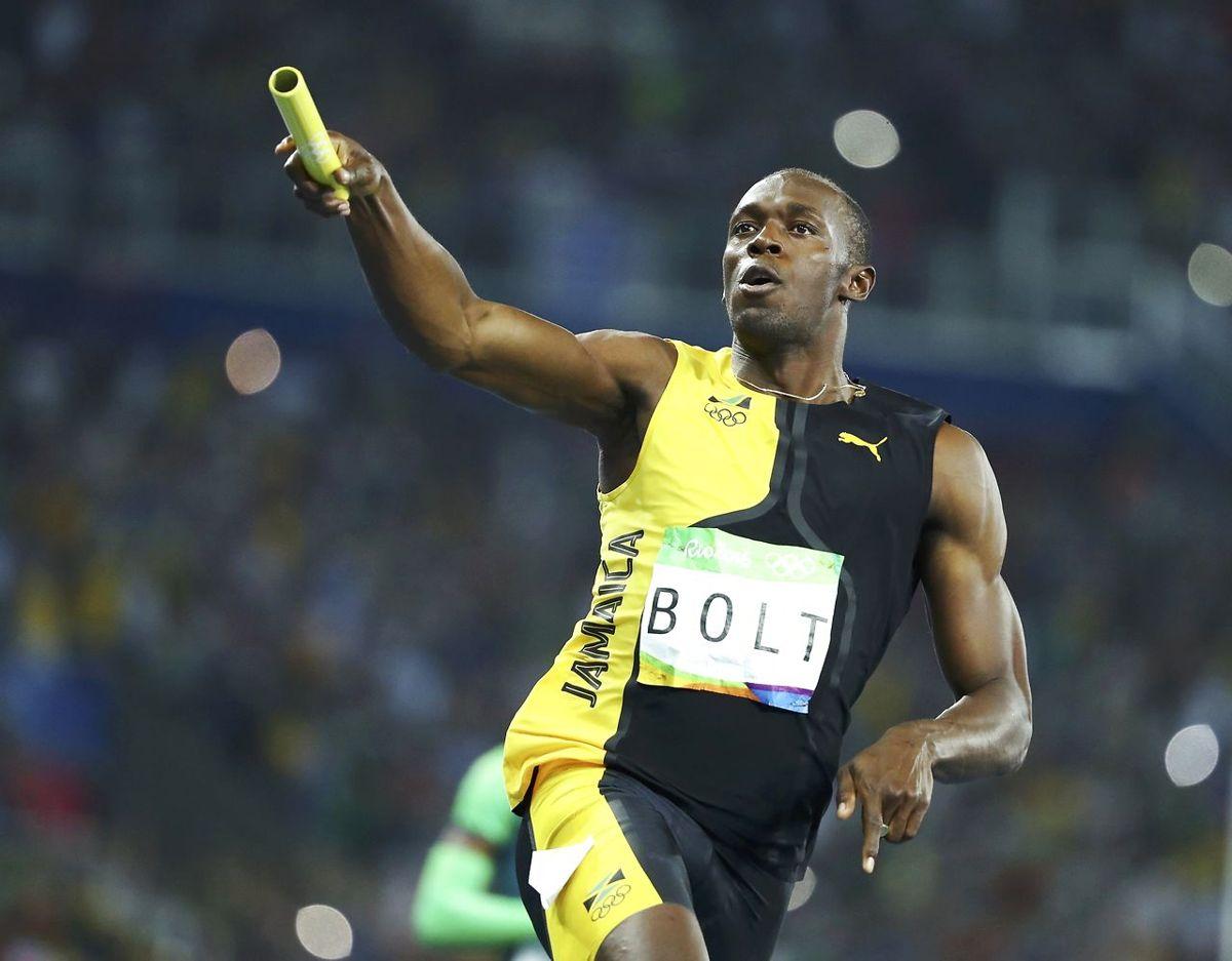 Tre gange guld til verdens hurtigste