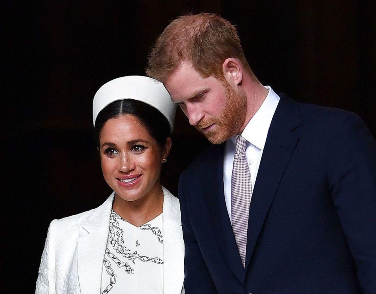 Rygterne om gnidningerne startede i november sidste år, da Kensington Palace annoncerede, at Harry og Meghan skulle flytte til Frogmore Cottage i Windsor, for at forberede sig på deres første barns komme. Foto: Scanpix/Ben STANSALL / AFP.