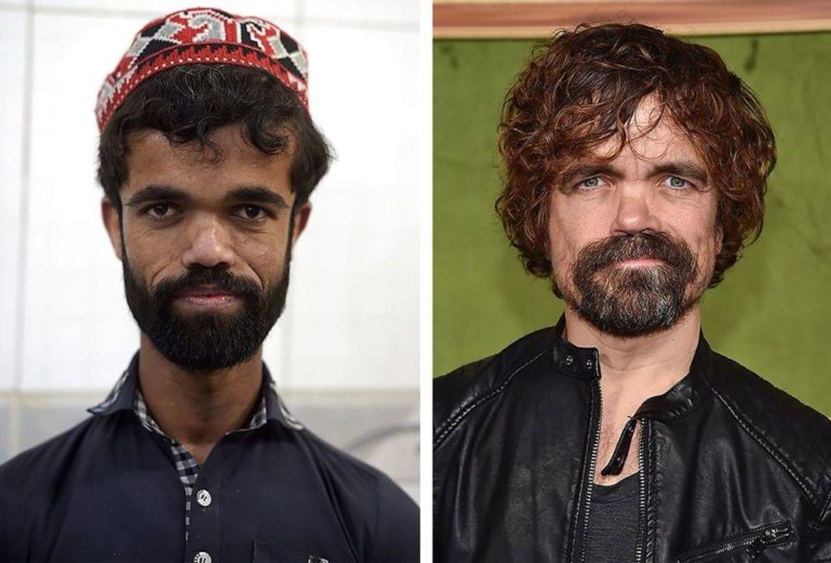 Der kan ikke være megen tvivl om, at Rozi Khan og Peter Dinklage ligner hinanden. Foto: Scanpix