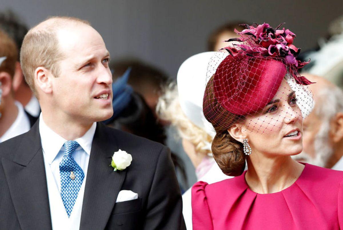 William og Kate var selvfølgelig med til brylluppet. Foto: Scanpix