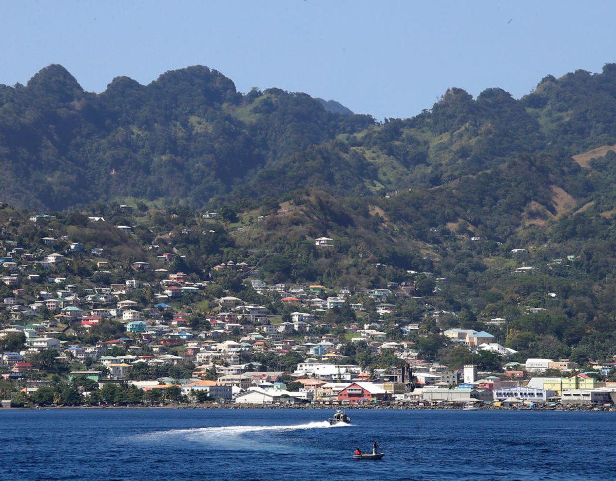 St. Vincent og Grenadinerne er beliggende i hjertet af det Caribiske hav. Foto: Scanpix/Chris Jackson/Pool via REUTERS
