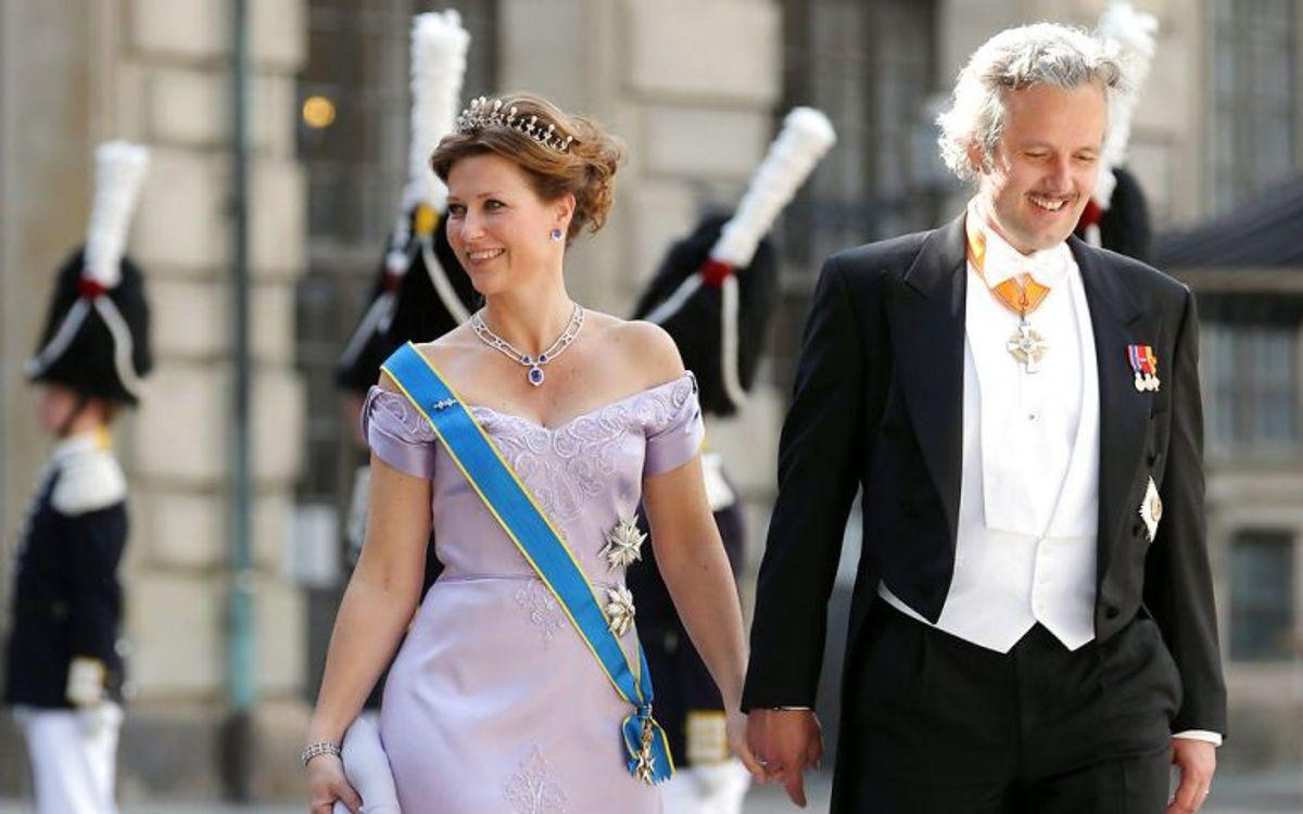Prinsesse Märtha Louise af Norge og Ari Behn meddelte i august 2016, at de skulle skilles efter 14 års ægteskab. Parret giftede sig 24. maj 2002. Sammen har de tre døtre på 13, 11 og syv år. Klik videre i galleriet for at se flere royale skilsmisser. Foto: Scanpix (Arkivfoto)