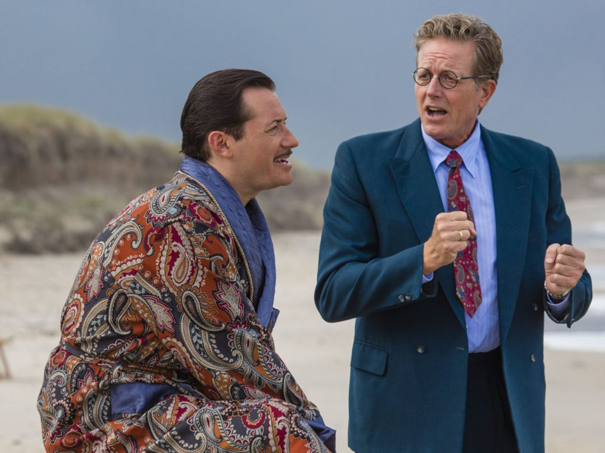 Professor Bach og Weyse kæmper for at finde glæden igen. Foto: Mike Kollöffel /TV 2