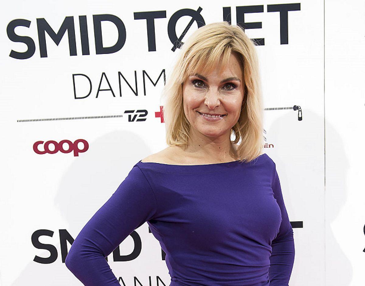 TV-værten Michéle Bellaiches ansigt er blevet misbrugt i en pornofilm. KLIK for flere billeder. Foto: Mogens Flindt/Scanpix.