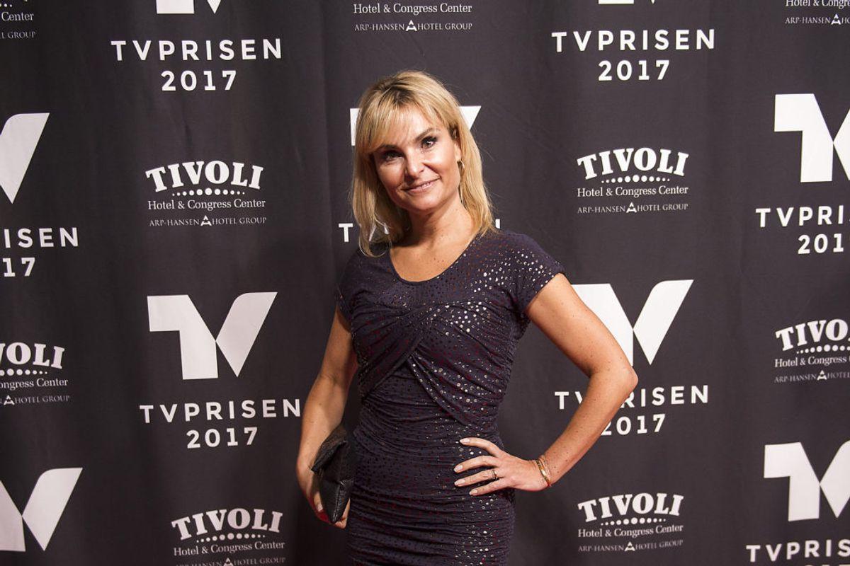 TV-værten Michéle Bellaiches ansigt er blevet misbrugt i en pornofilm. KLIK for flere billeder.  (Foto: Sarah Christine Nørgaard/Scanpix 2017)