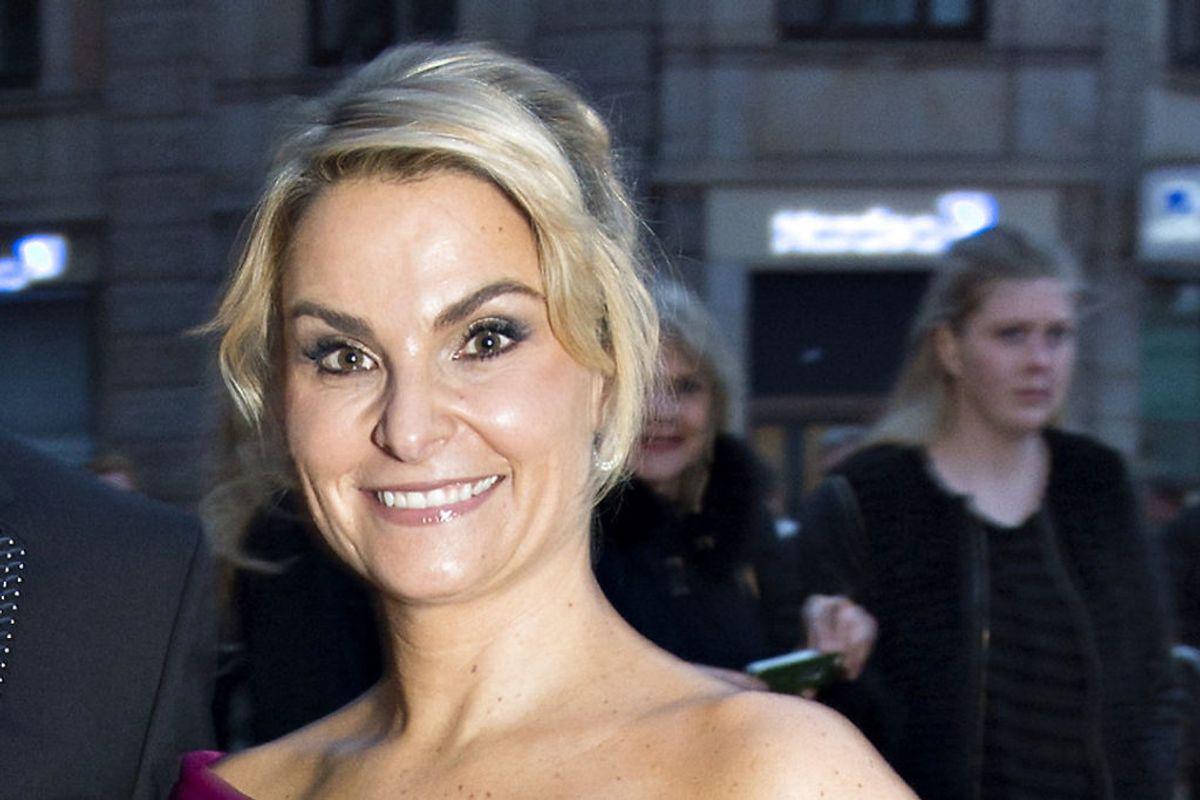 TV-værten Michéle Bellaiches ansigt er blevet misbrugt i en pornofilm. KLIK for flere billeder. (Foto: Jens Nørgaard Larsen/Scanpix 2016)