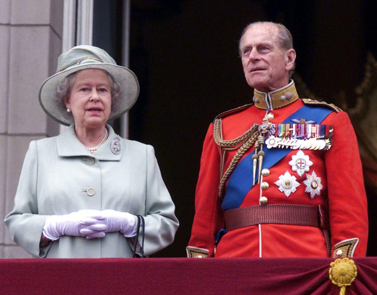 Phillip fik eftersigende aldrig et godt forhold til svigermor Elizabeth. Foto: Stephen Hird/Scanpix.