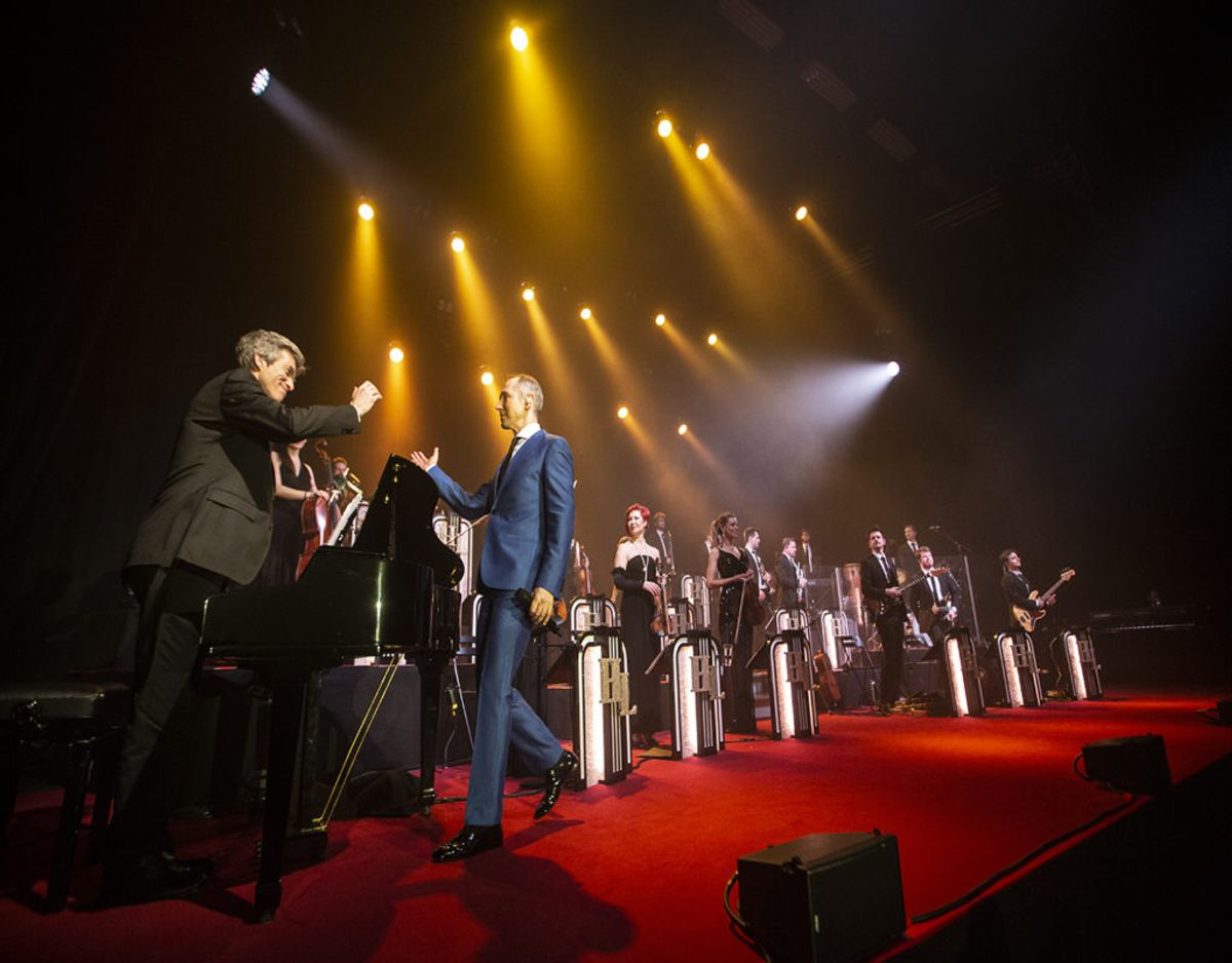 Fra koncerten i MAGION i Grindsted. Foto: René Lind Gammelmark