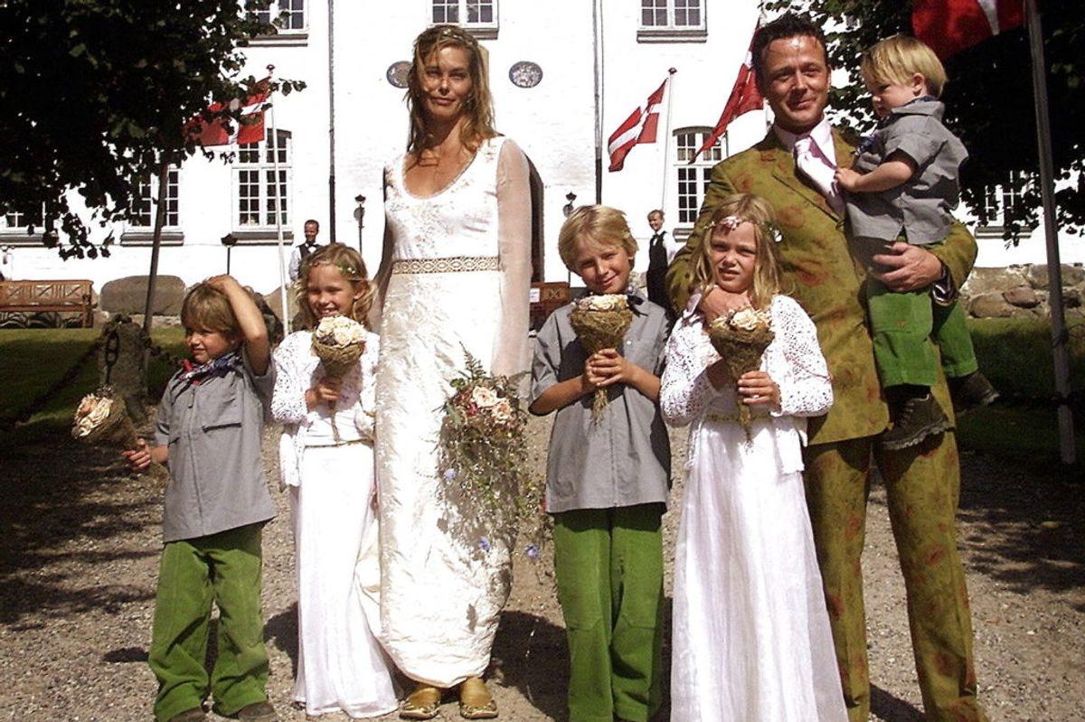 Da Hugos forældre blev gift i 2000. (Foto: HENNING BAGGER/SCANPIX NORDFOTO 2000).