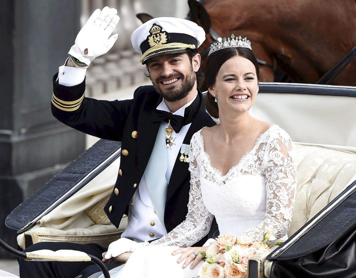 Svenske prinsesse Sofia var model og realitystjerne, før hun mødte sin nuværende mand, prins Carl Phillip af Sverige. Foto: Scanpix/Mikael Fritzon.