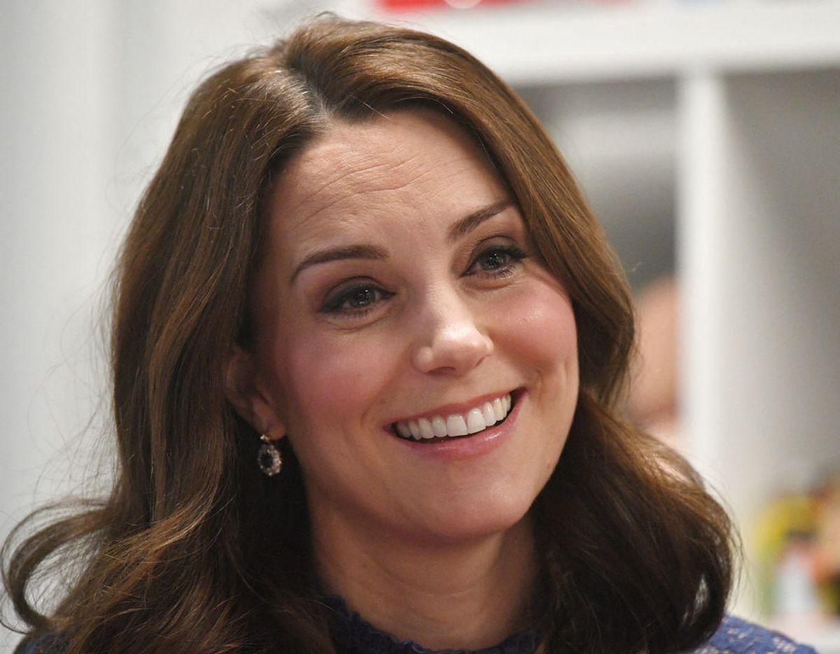 Kate Middleton, eller Catherine, hertuginde af Cambridge, er gift med engelske prins William. Hun voksede om i den højere engelske middeklasse. Foto: Scanpix/Victoria Jones.