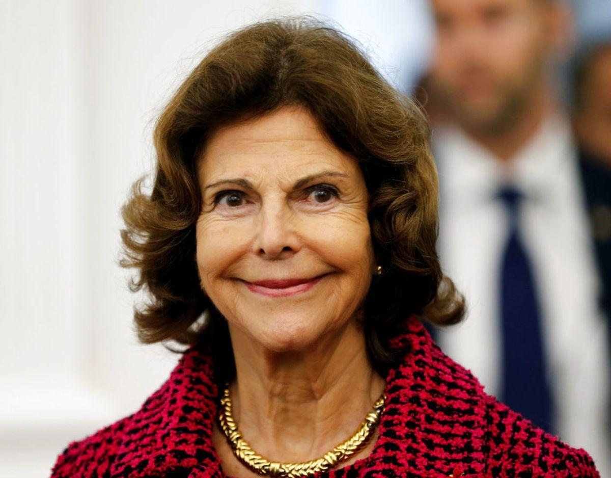 Dronning Silvia af Sverige er født i Tyskland. Hendes mor var fra Brasilien og hendes far Tysker. Hun har været gift med svenske kong Gustav siden 1977.  Foto: Scanpix/Regis Duvignau