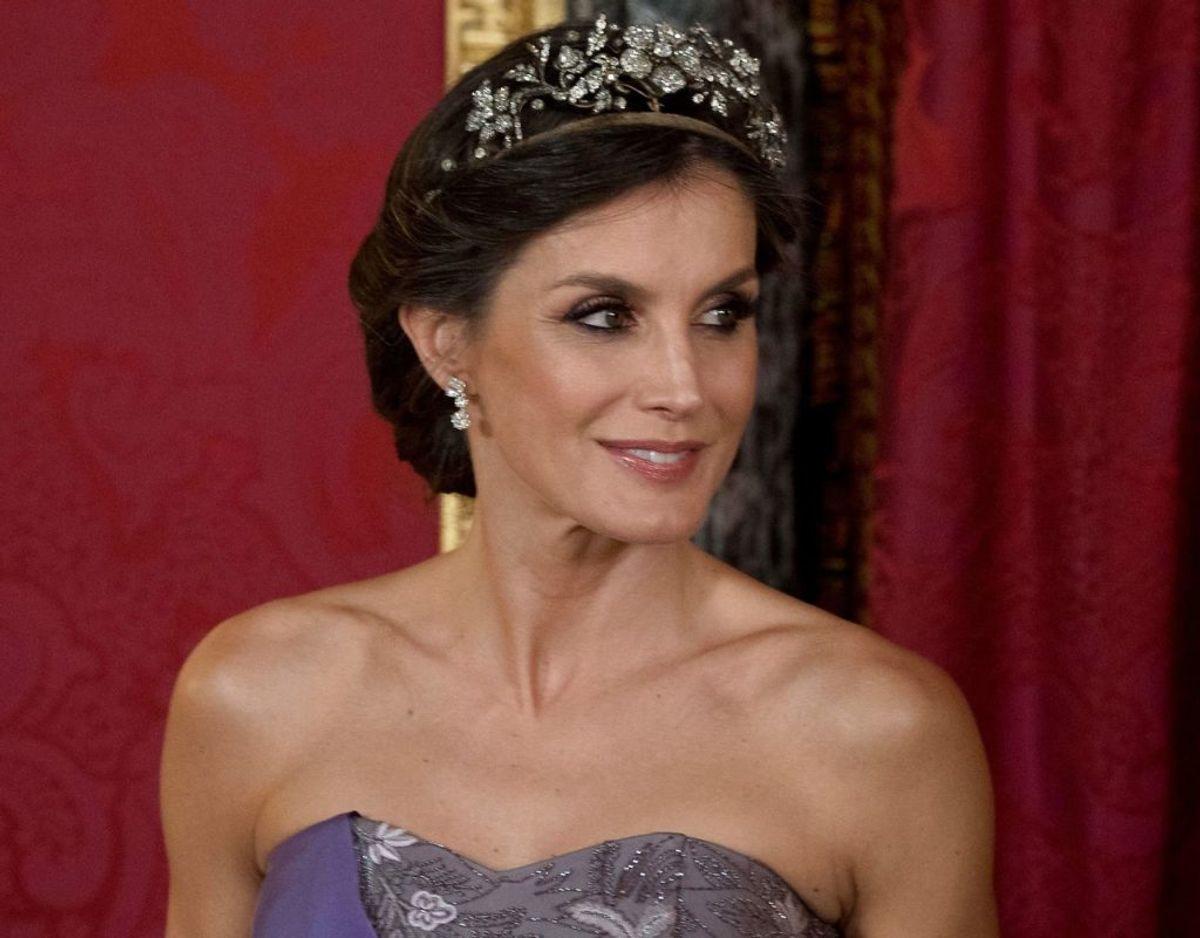 Dronning Letizia af Spanien arbejdede som journalist, før hun blev gift med prins Felipe, der siden blev konge af Spanien.  Foto: Scanpix/CURTO DE LA TORRE