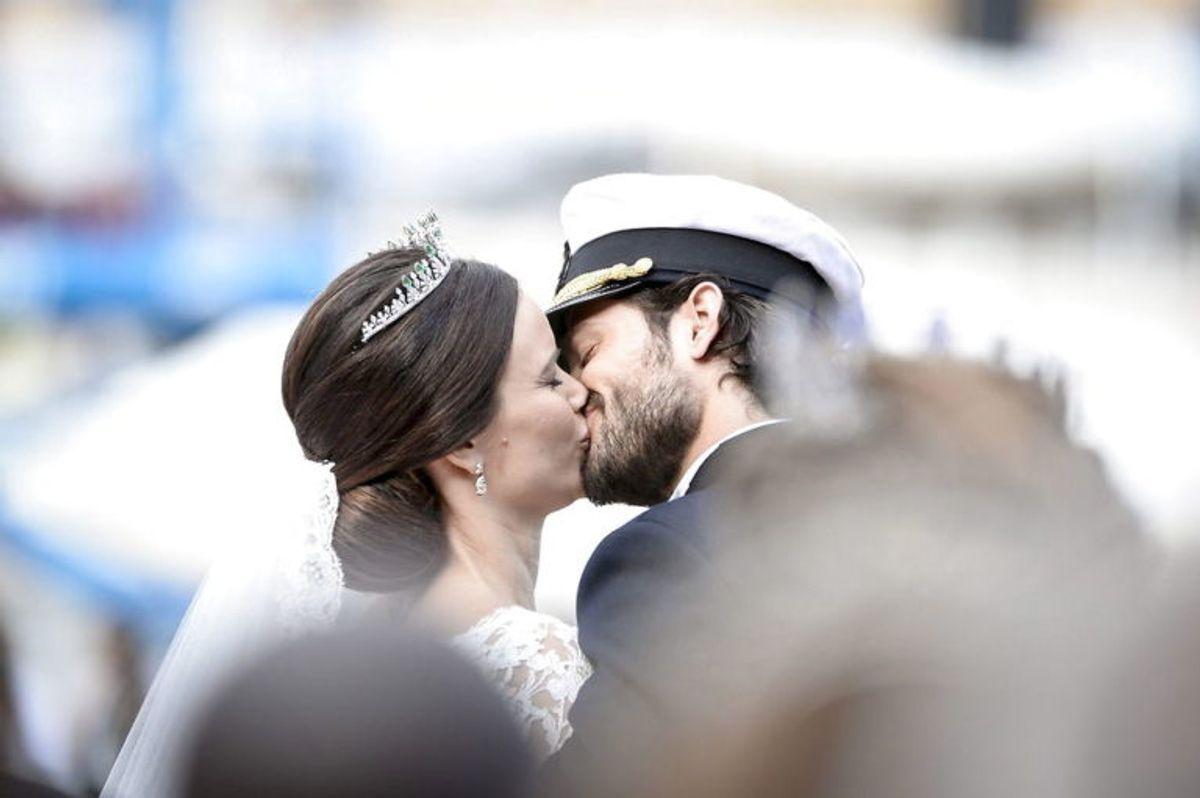 Sofia Hellqvist og Carl Philip har delt mange store øjeblikke. KLIK VIDERE OG SE DE MANGE SMUKKE BILLEDER. Foto: Scanpix