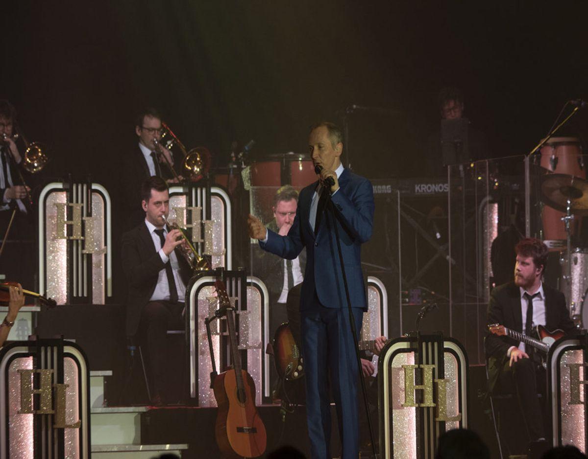 Fra koncerten i Grindsted torsdag aften. Foto: René Lind Gammelmark