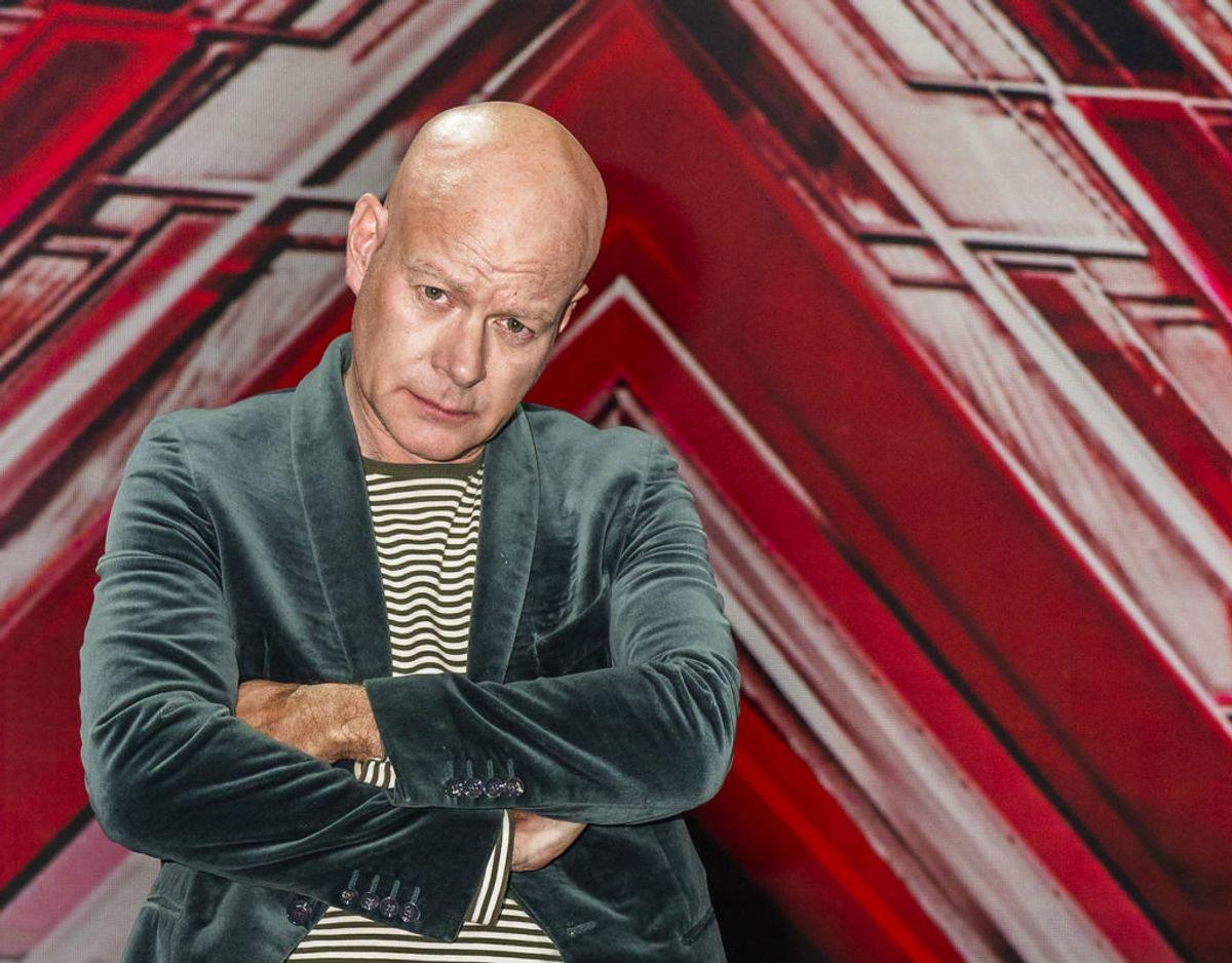 X Factor-dommer Thomas Blachman er ikke vild med at tale om det faktum, at han snart skal være far igen. Arkivfoto: Martin Sylvest/Ritzau Scanpix.