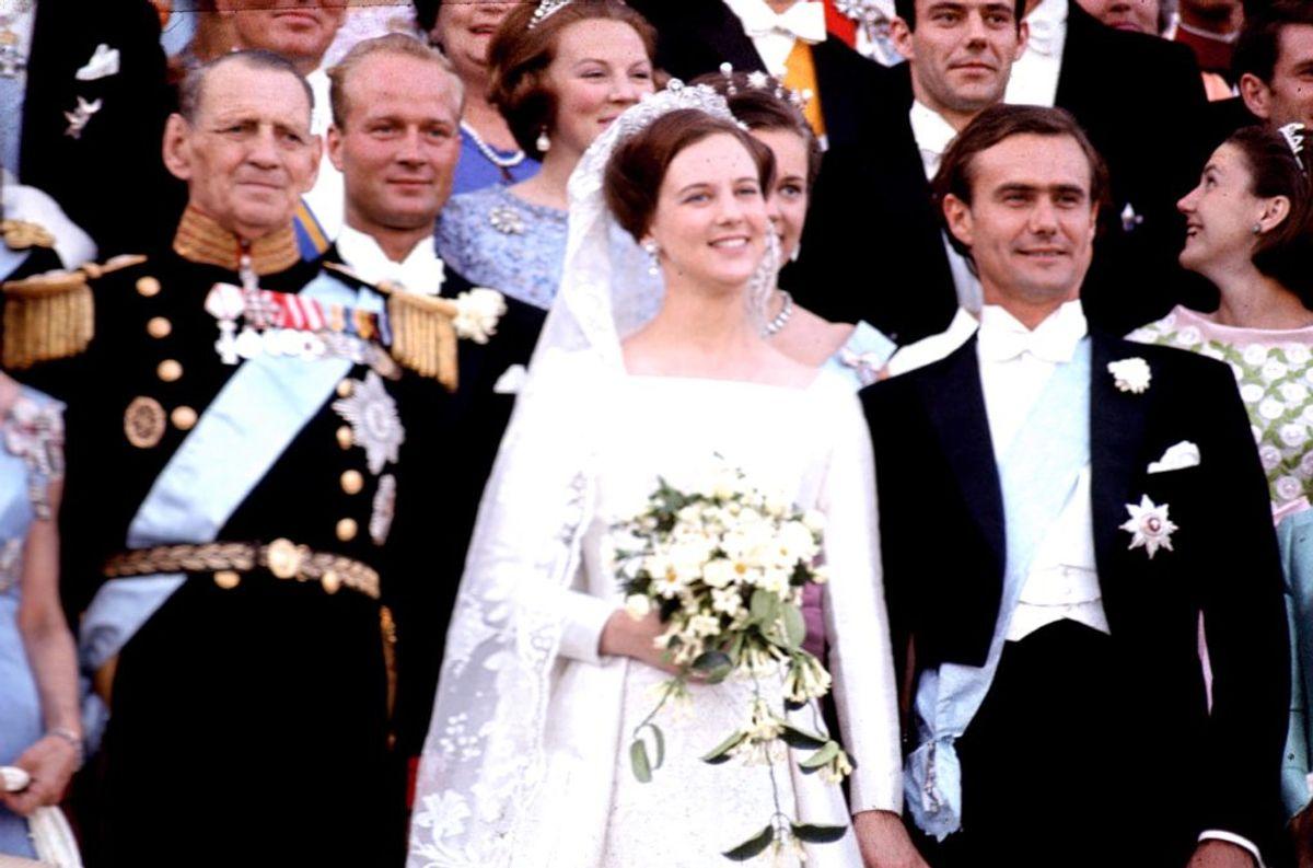 10. juni 1967 sagde dronning Margrethe og prins Henrik ja til hinanden. (Foto: PER PEJSTRUP/Scanpix 2017)
