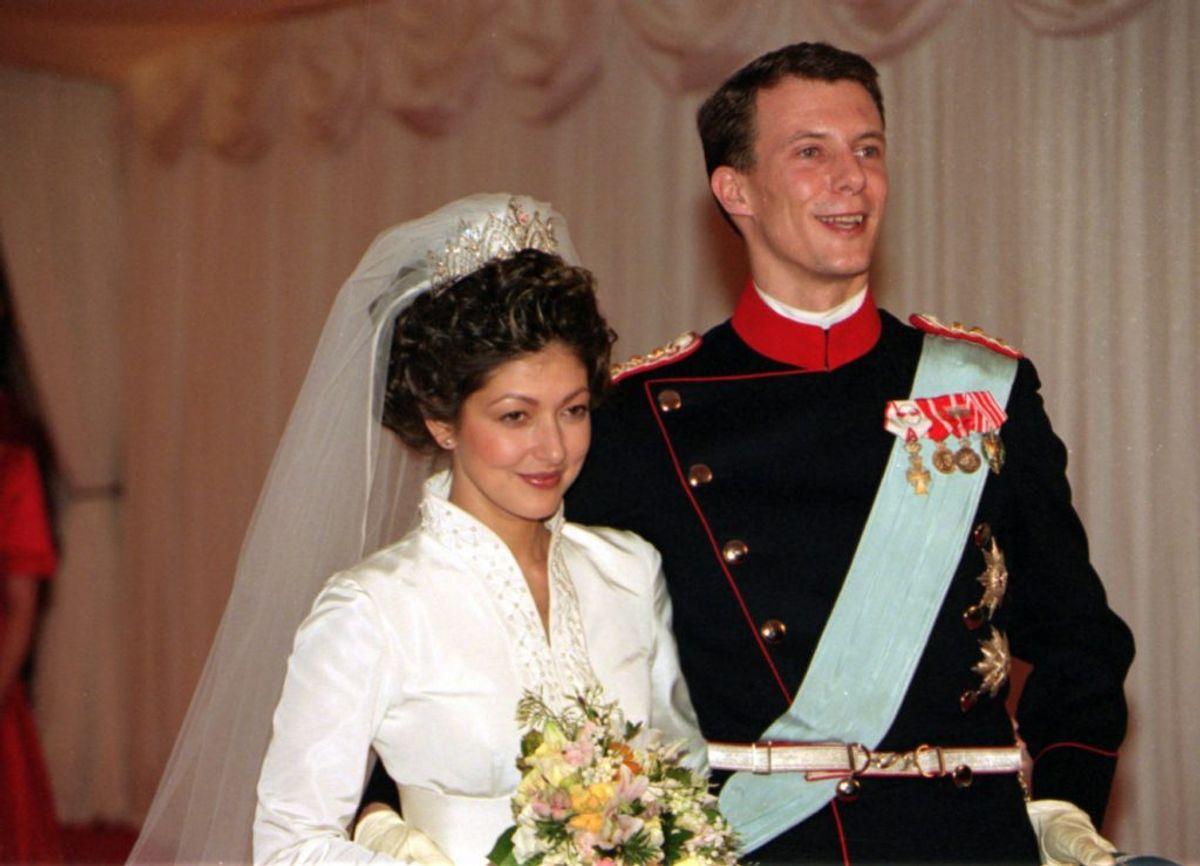 18. november 1995 blev prins Joachim og prinsesse Alexandra gift. Parret blev dog senere skilt. Foto: Scanpix