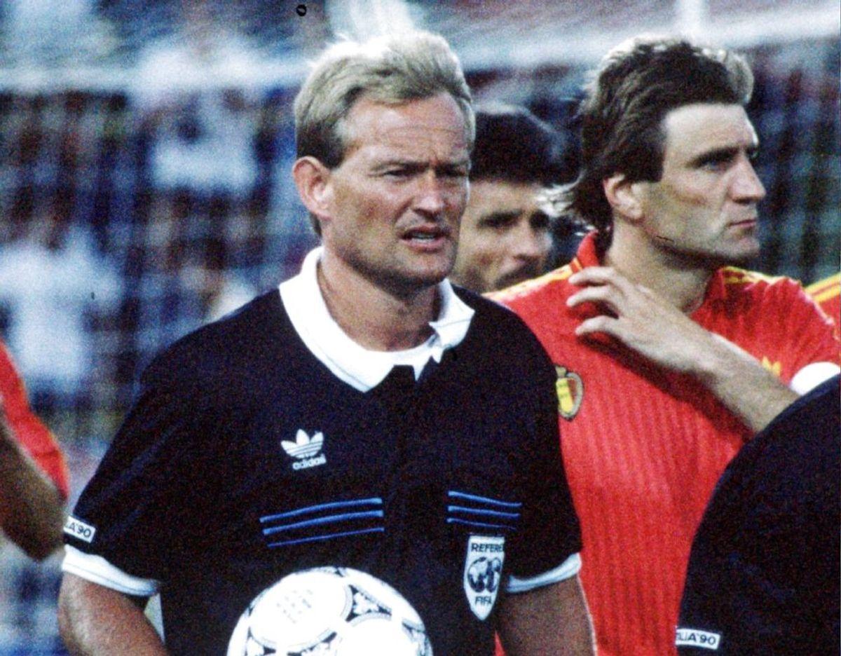 Peter Mikkelsen var gennem 90'erne blandt verdens bedste dommere. Foto: Scanpix.