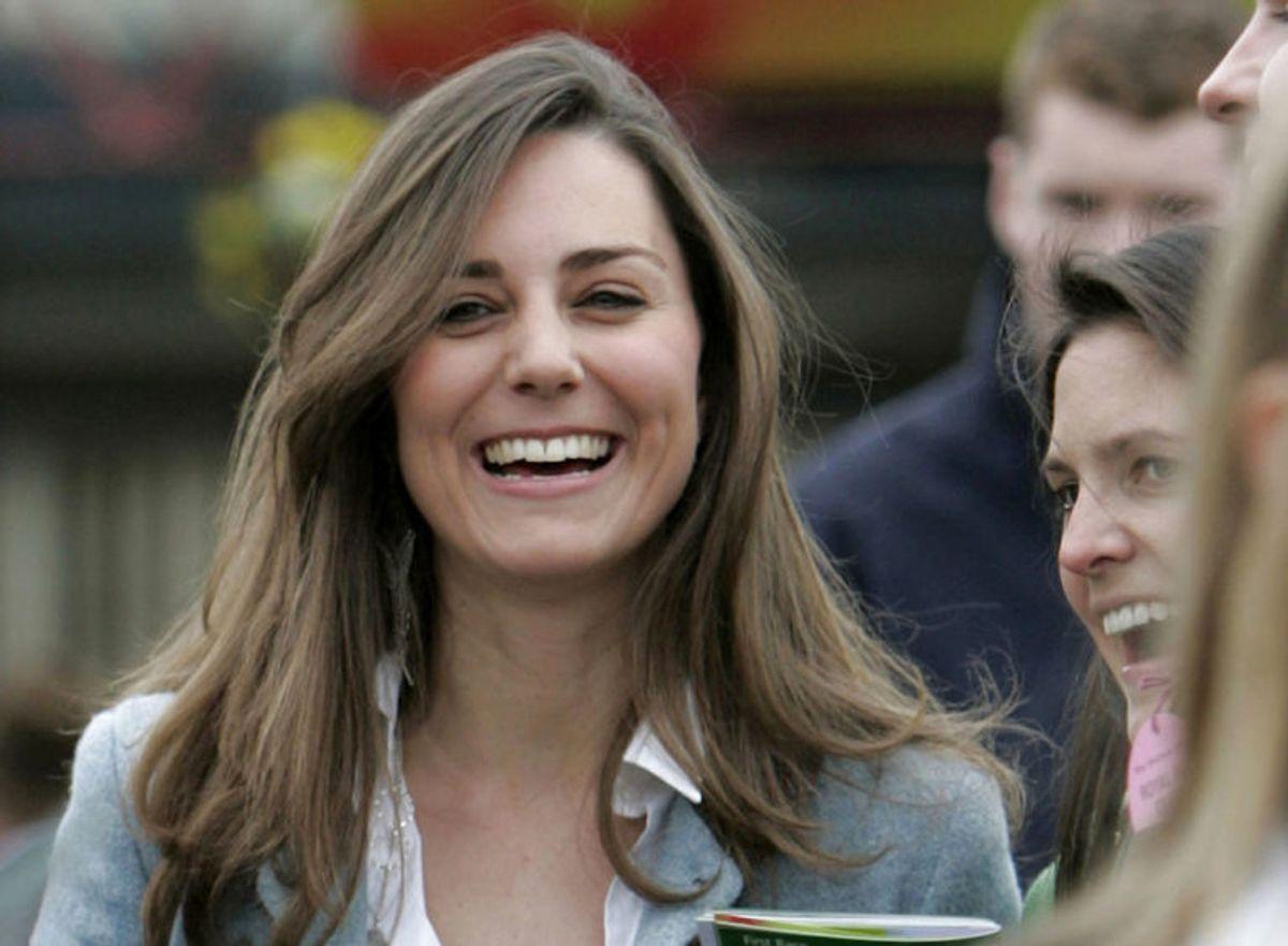 Du kan måske kende hende, men det er prins Williams kæreste Kate Middleton, som hun så ud i 2010. Foto: Scanpix