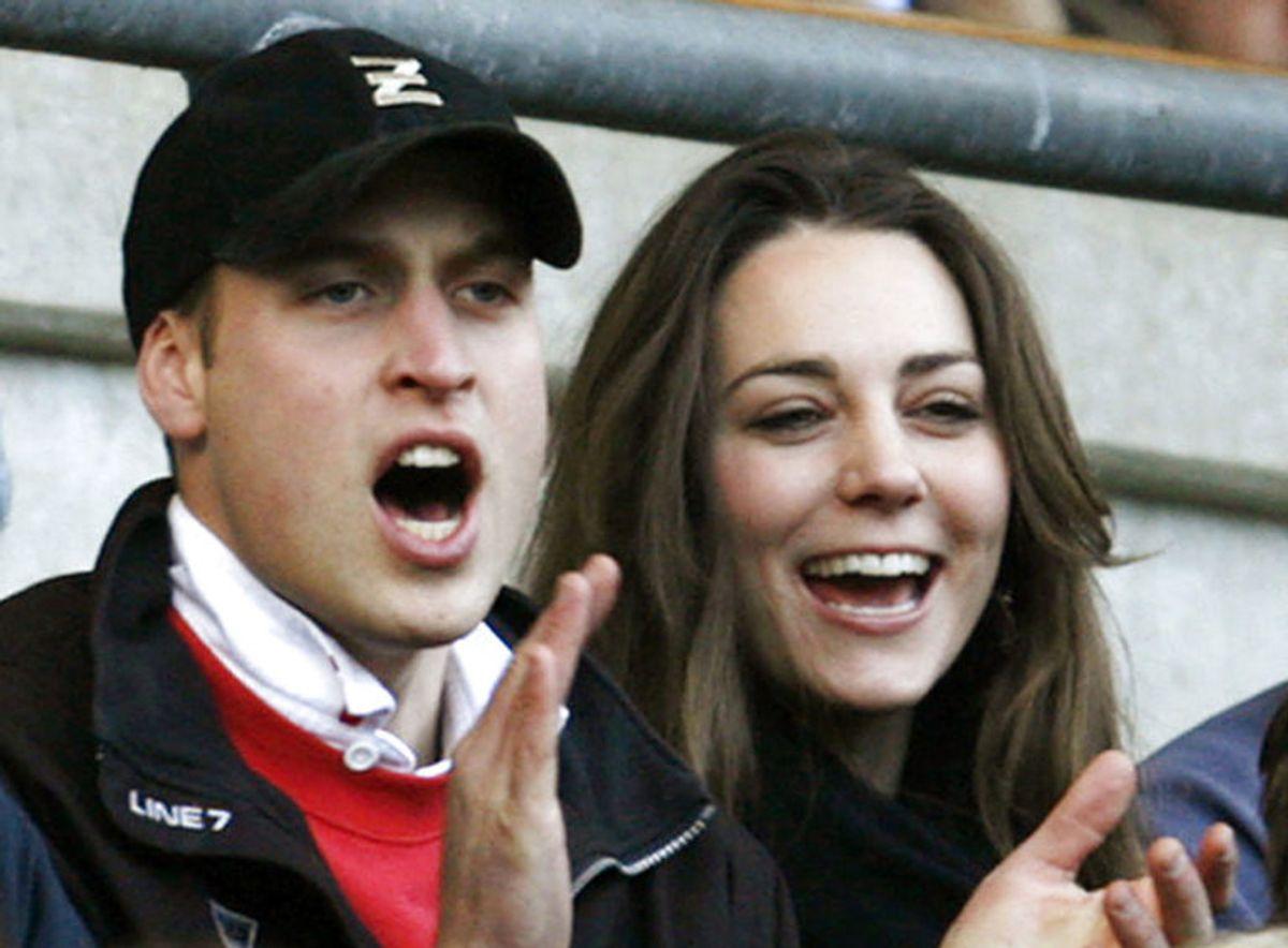 I 2007 så vi prins William og Kate Middleton til en rugby-turnering. Foto: Scanpix