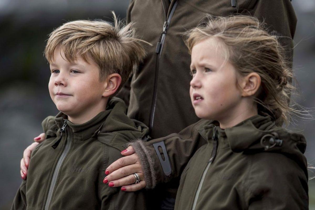 I dag, 8. januar, fylder de kongelige tvillinger år. KLIK og se kronprinsessens egne billeder.(Foto: Mads Claus Rasmussen/Ritzau Scanpix)