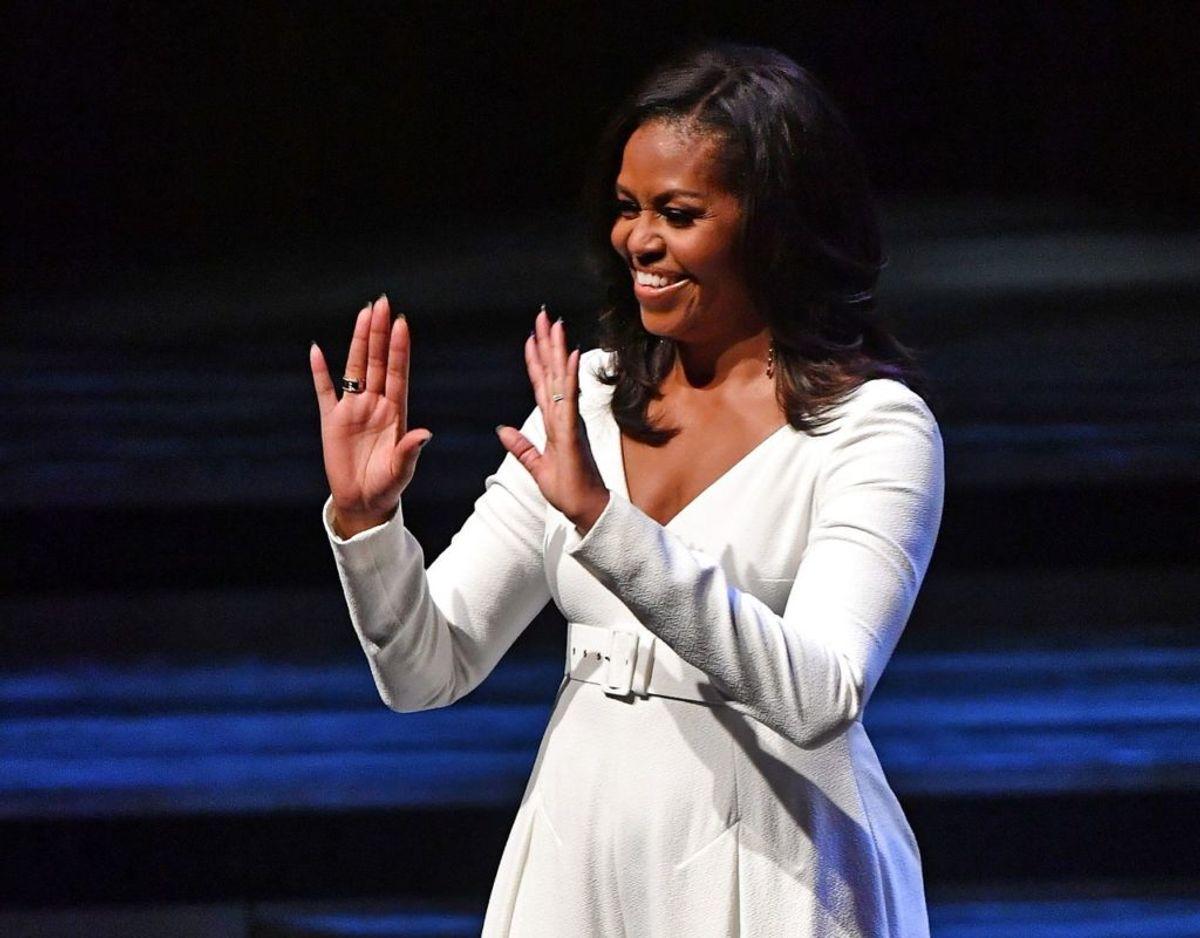 Michelle Obama, tidligere førstedame i USA, har gode råd til MEghan Markle. Foto: Scanpix