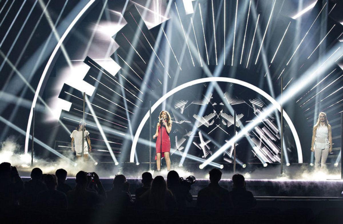 Melodi Grand Prix bliver ikke i Aalborg i 2019. Klik dig gennem galleriet og se nogle billeder fra det i 2018. Foto: Scanpix