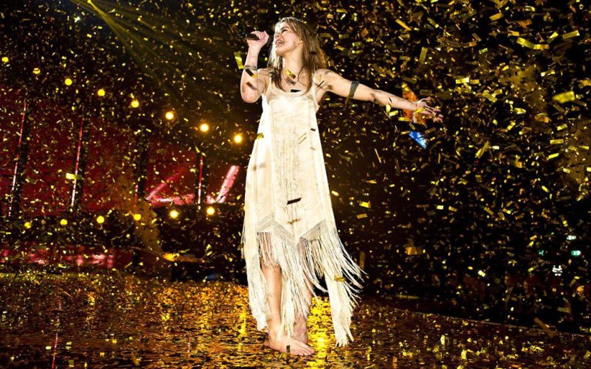 Emmelie de Forest vandt i 2013 med sangen Only Teardrops. Senere vandt hun også Eurovision Song Contest. Foto: Henning Bagger/Scanpix (Arkivfoto)
