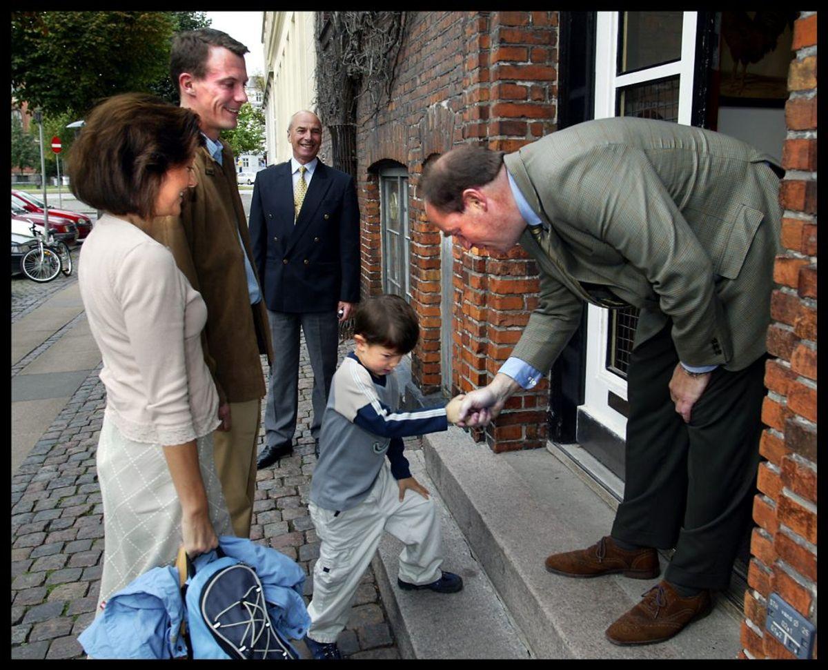 Prins Nikolai begyndte i 2004 på Krebs Skole. Foto: Scanpix