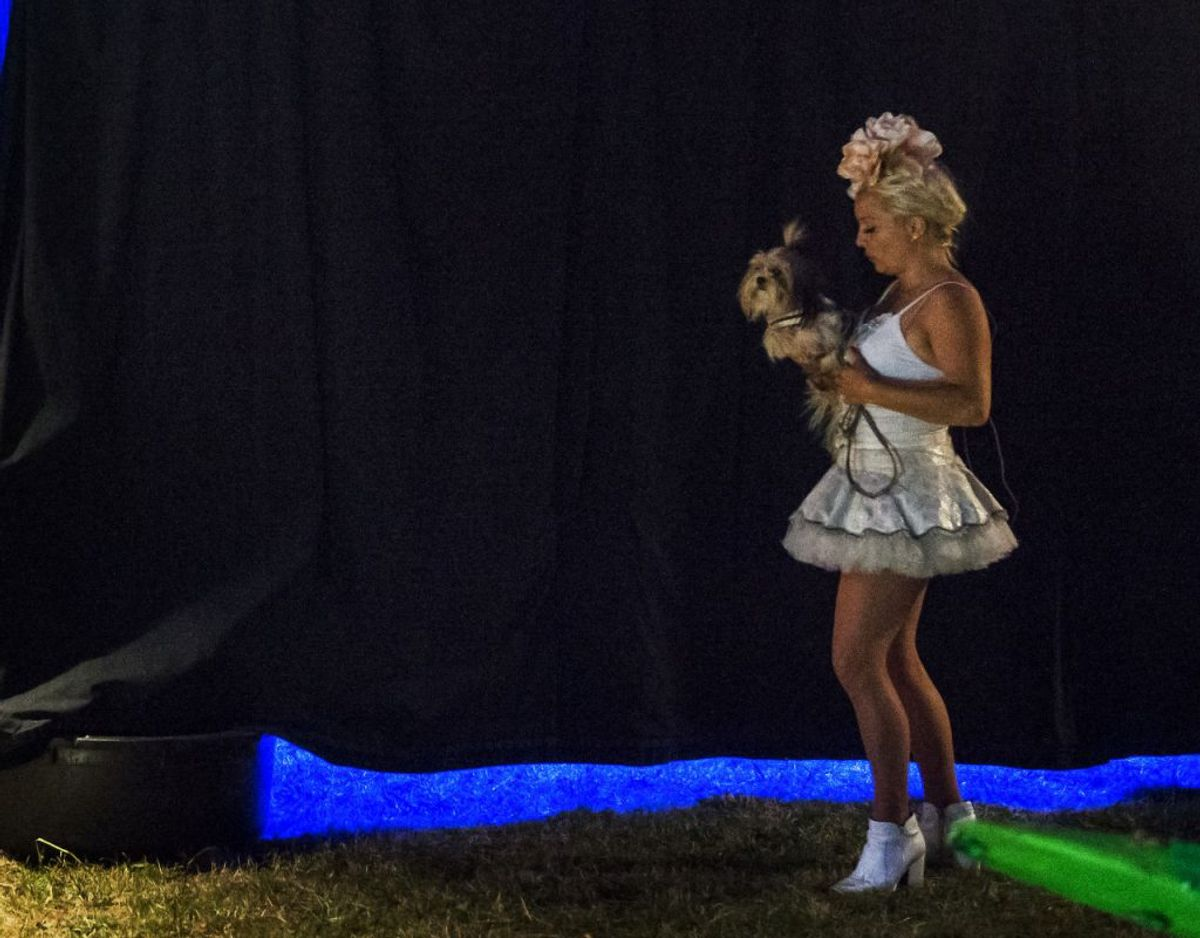 Signe Lindkvist har prøvet lidt af hvert gennem karrieren. I 2015 rejste hun rundt med cirkus Arena. Nu venter Vild med Dans på TV2. Foto: Scanpix.