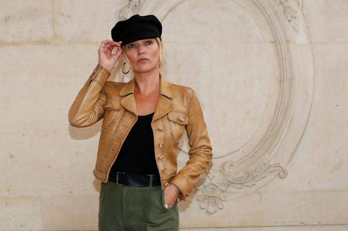 Supermodellen Kate Moss har mistet kontrakter til mange millioner kroner på grund af sit kokainmisbrug. Foto: Scanpix
