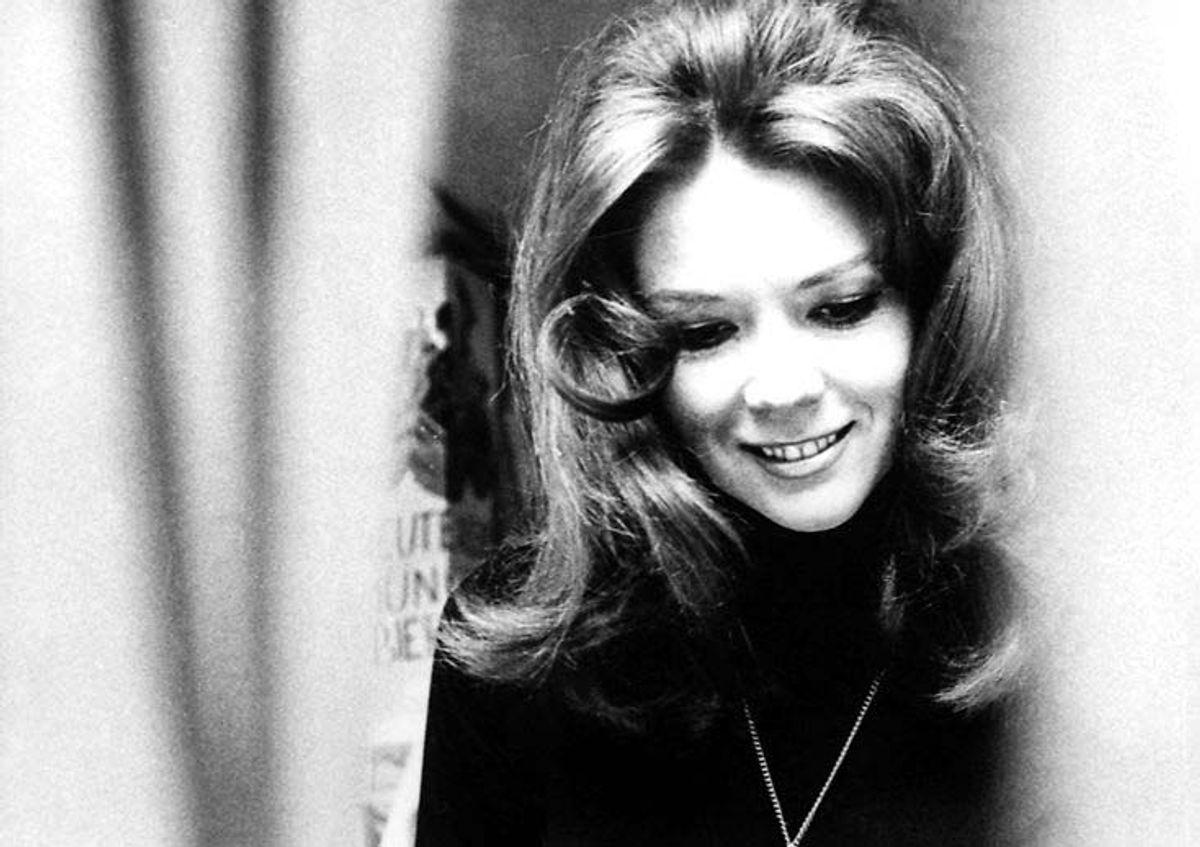 """Her ses Diana Rigg som """"Bond""""-pige i 1969. Foto: Scanpix (Arkivfoto)"""