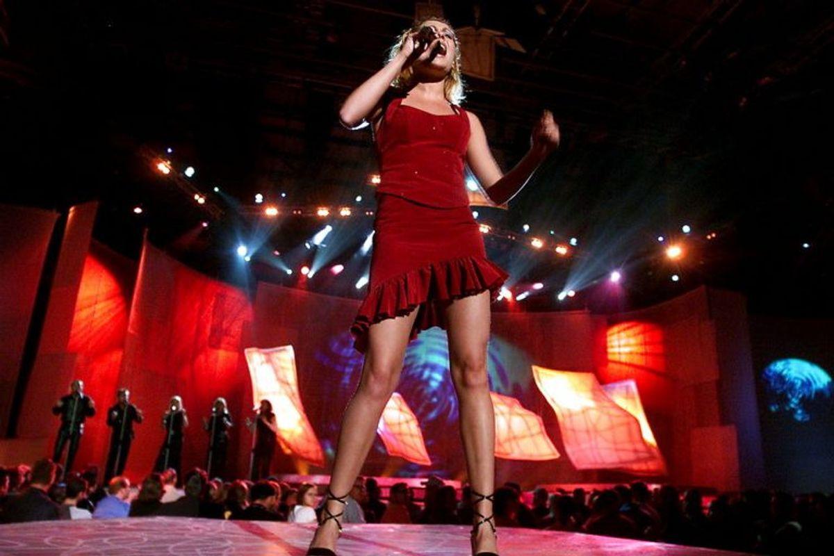 Malene W. Mortensen vandt i 2002 med sangen'Tell me, who you are'. Sangen floppede dog ved Eurovision Song Contest. Foto: JEANNE KORNUM/SCANPIX (Arkivfoto)