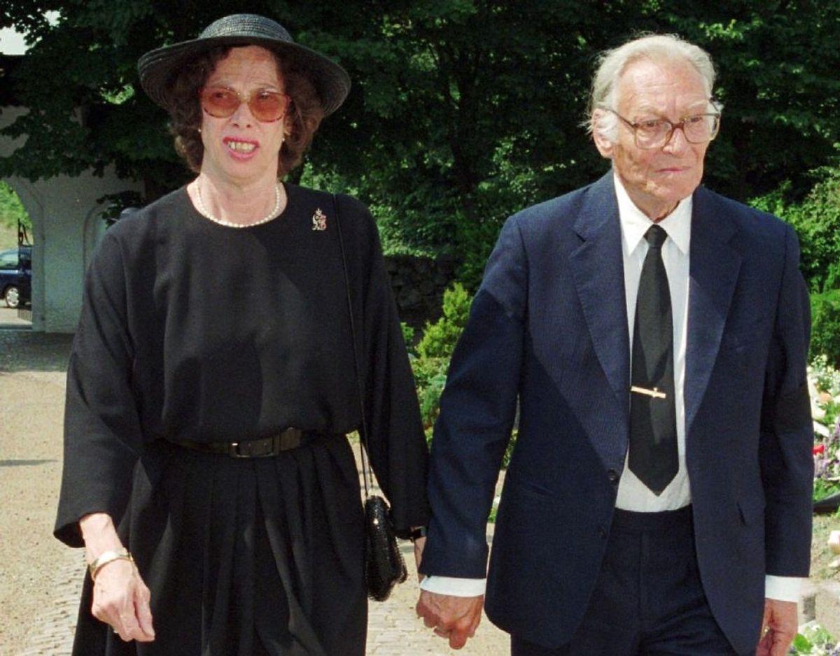Prinsesse Elisabeth boede i en snes år sammen med Claus Hermansen, som døde i 1997. Arkivfoto: Scanpix