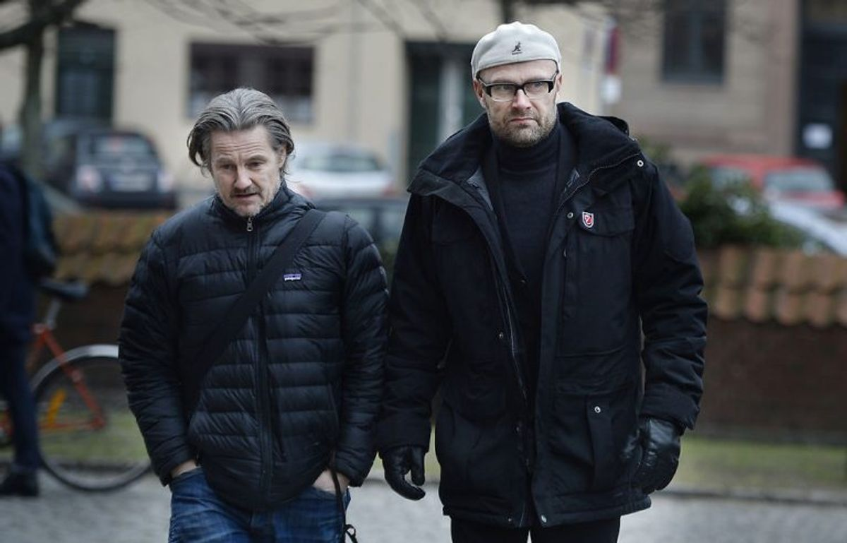 Lars Kaalund 8tv) og Ole Christian Madsen. Foto: Liselotte Sabro.