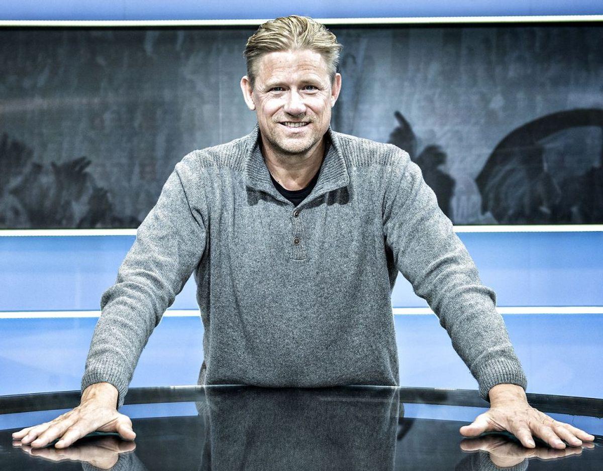 Peter Schmeichel. Den tidligere landsholdskæmpe Peter Schmeichel afviser at udføre russisk propaganda i sin rolle som tv-vært. Foto: Jens Nørgaard Larsen/Scanpix.