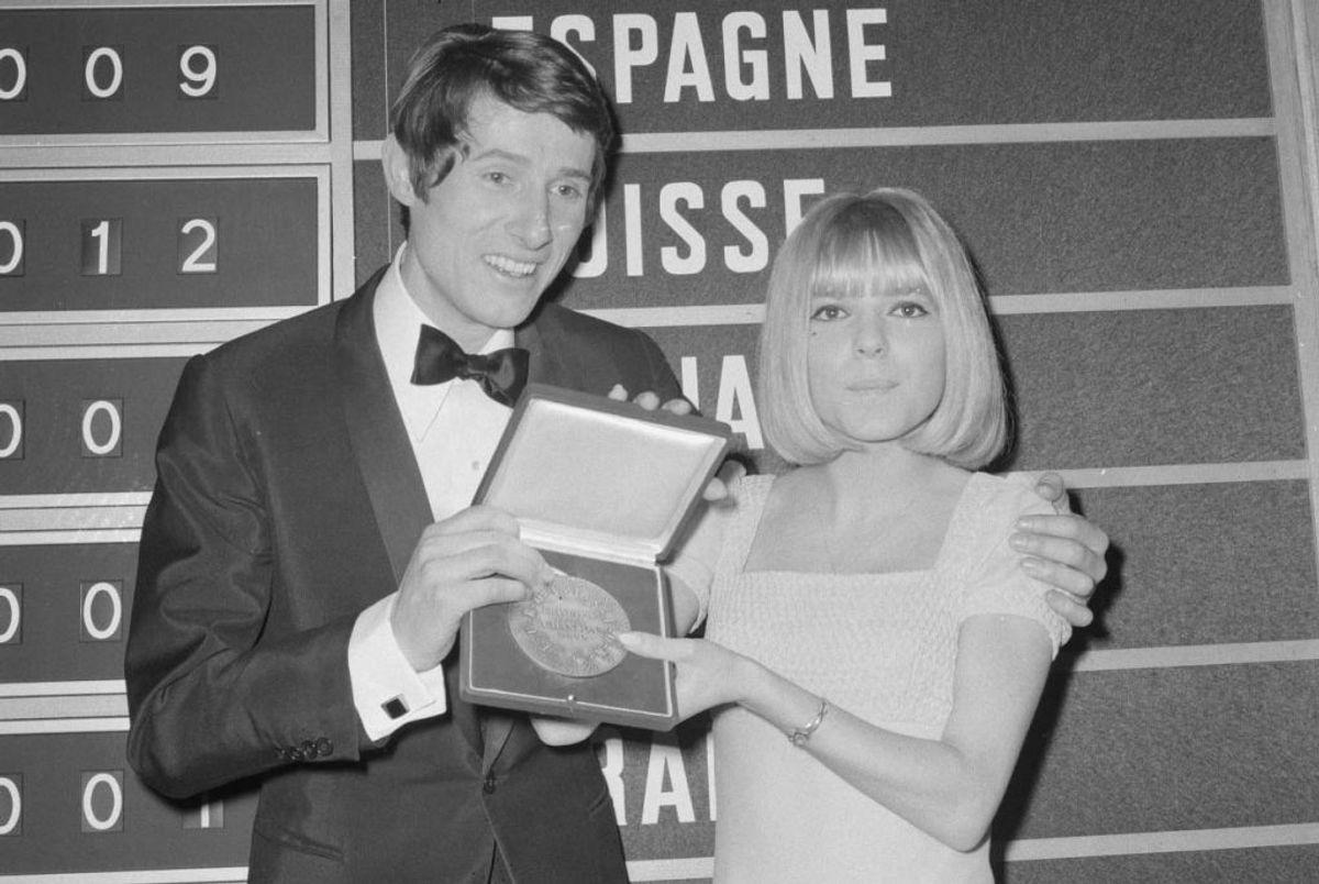"""1966: Østrig vandt dette år sin første sejr i Eurovision Song Contest. Vinderen blev Udo Jürgens med sangen """"Merci Chérie"""". Foto: Nationaal Archief, Den Haag, Rijksfotoarchief: Fotocollectie Algemeen Nederlands Fotopersbureau / Wikipedia (Arkivfoto)"""