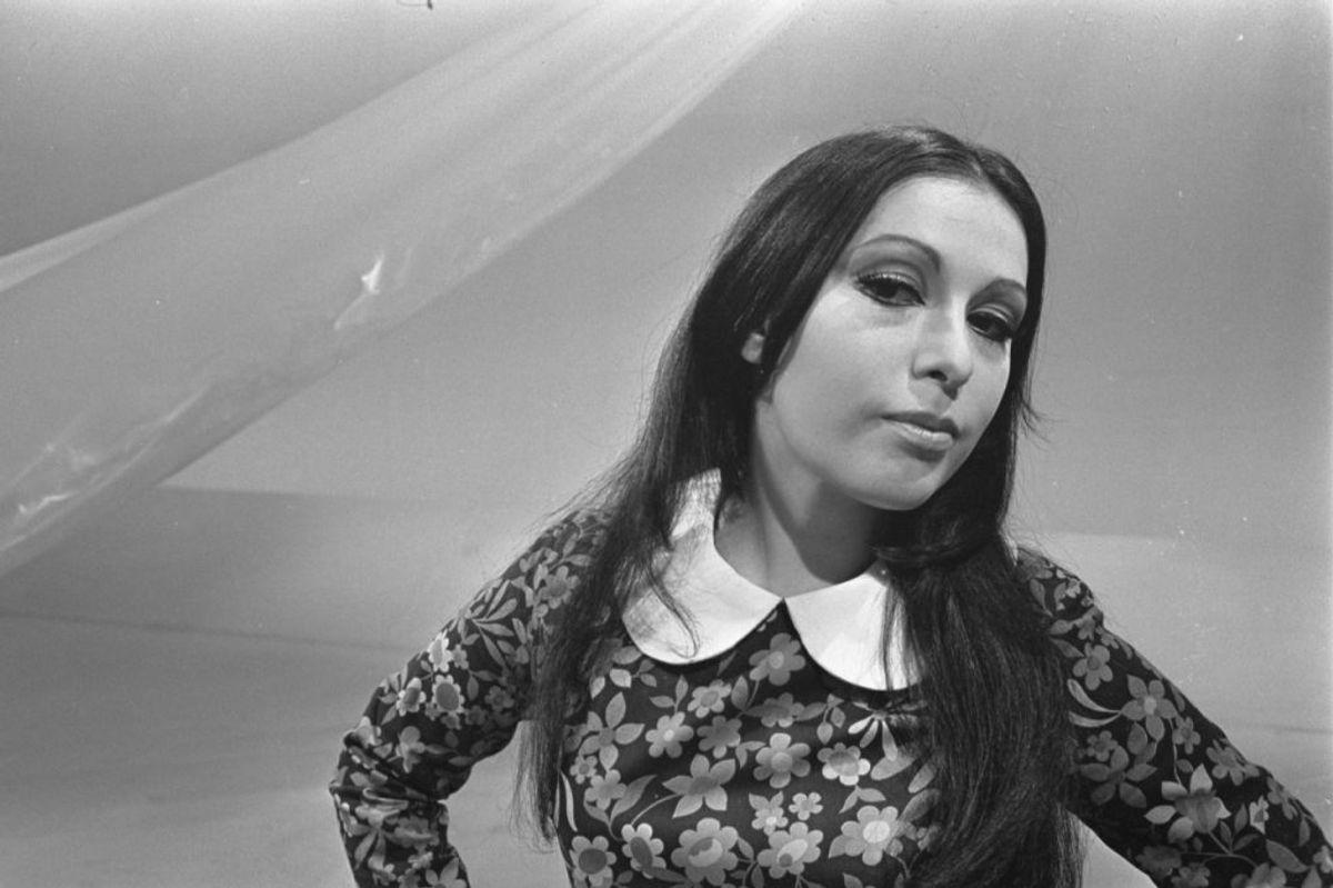 """1968: Spanien vandt dette år for første gang Eurovision Song Contest. Det skete med sangerinden Massiel og nummeret """"La, la, la"""". Foto: Scanpix (Arkivfoto)"""